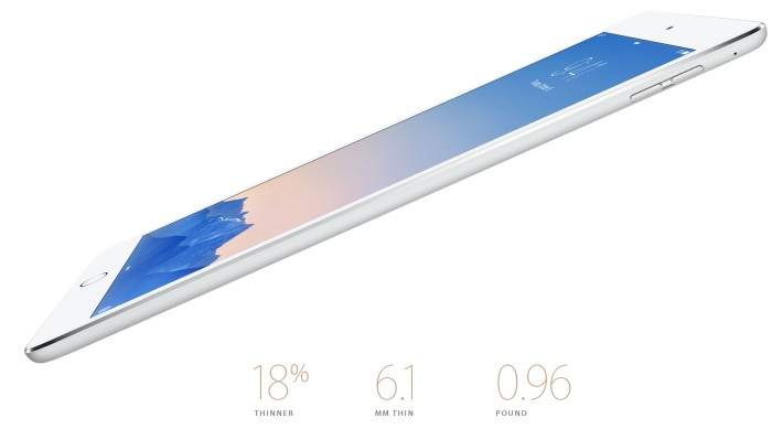 iPad Air 2 Apple Event October 2014